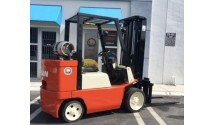 Used Forklift Nissan 2000 JC60P, 6,500lbs.