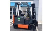 Used Forklift 2012 Toyota 8FBCU20, 4,000lbs.