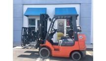 Used Forklift 2007 Toyota 7FGCU25, 5,000lbs