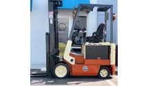 Used Forklift Nissan 2007 , CSP01L15S , 3,000LBS