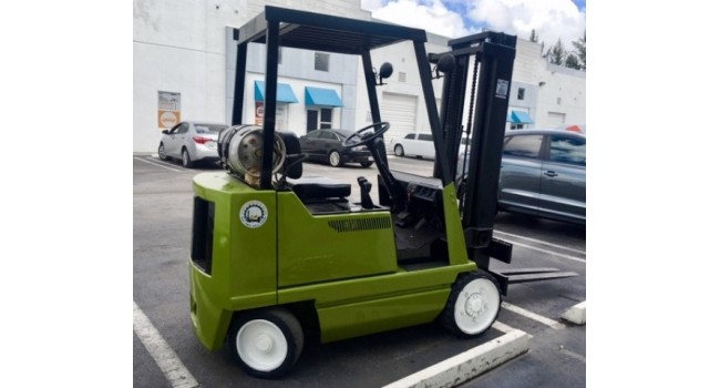 Used Forklift  1994 Clark ,GCX20 4,000 LBS