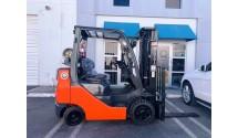 Used Forklift 2013 Toyota 8FGCU25, 5,000lbs.