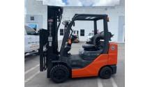 Used Forklift 2016 Toyota 8FGCU33 6,500lbs.