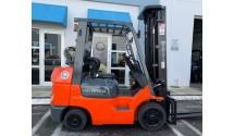 Used Forklift 2007 Toyota 7FGCU30, 6,000lbs.#84