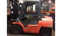 Used Forklift 2010 Toyota 7FGU35, 8,000lbs.